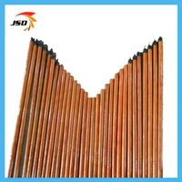 Wooden straight broom handle