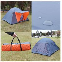 for Person Waterproof Mosquito g 3 Shelter Cabin Wa Tents f M Net Fishing Hiking Ne for Camping 3