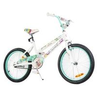 Tauki Spring 20 inch Flowers Girl Bike, Green