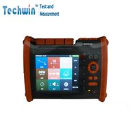 Techwin High Precision OTDR Tester TW3100E VFL Touch Screen Optical Instruments