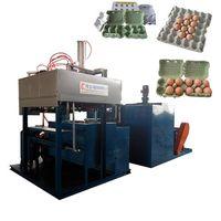 Paper egg box production machine