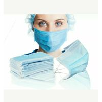 Disposable Medical 3 ply Non Woven Mask Surgical Disposable Face Mask thumbnail image
