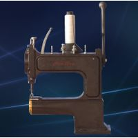Cowboy outlaw hand crank leather sewing machine thumbnail image
