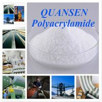 High quality flocculant / polyacrylamide/ anionic polymer / cationic polymer for waste water treatme thumbnail image