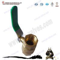 2pc thread connection brass ball valve thumbnail image