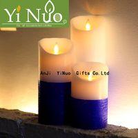 Electronic Moving Wick Flame LED Flameless Candle Set