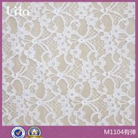 cute soft spandex lace fabric for underwea