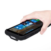 6 inch windows touch screen IP65 rugged tablet barecode scanner PDA thumbnail image