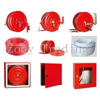 fire hose, fire fighting hose, trolley extinguisher hose thumbnail image