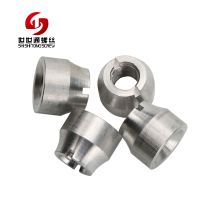 Non-standard Aluminum Turning Process Mechanical Hand Twist Slotted Nuts