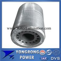 IE3 Premium Efficiency Electric Motor Centrifugal Cast Aluminum Rotor Core