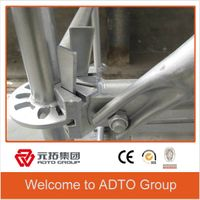 ADTO Ringlock Scaffolding for Working Platform or Support System