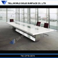 2014 new design solid surface conference desk
