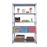 Storage Shelf 5 layer light duty metal steel rack steel goods storage shelf