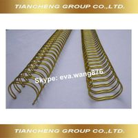 nylon coated twin ring wire