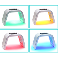 Portable led red light facial use therapy machine acne wrinkles removal thumbnail image
