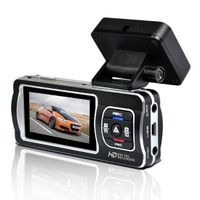 Car DVR with Corelogic solution, 1 million pixels, dual cameras, GPS tracking