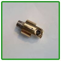 HD Type 3/8 Inch Copper Monoflow Thread Connection Water Rotary Joint
