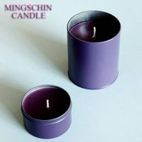 Mingschin Scented Colorful Tin Candle