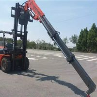 Forklift modified boom, boom can be customized