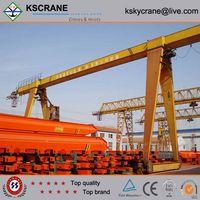High Working Efficiency Box Type Single Girder Gantry Crane