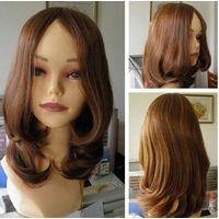 wholesale 100% Brazilian virgin human hair Kosher wig/Jewish wig thumbnail image