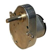 For ATM ,Strong Box and Inductive Bin,48mm Gear motor with 6V and speed of 18RPM