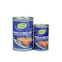 Factory price Canned Fish Tin Mackerel in Tomato Sauce 155g/425g thumbnail image