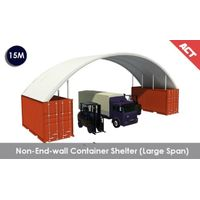 Aluminum container shelters