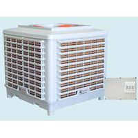 LCD control system Powerful  evaporated air cooler with the type JQSK-A12-A18