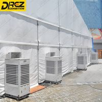 Drez Airduct Tent Air Conditioner-HVAC Units 12 ton, 20 ton, 25 ton and 30 ton ac