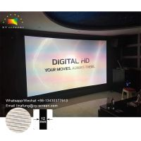 OEM/ODM Home Cinema Factory Projector Screen 4K Woven Acoustically Transparent Sound Screens