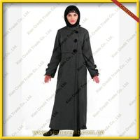 2014 Newest muslim women abaya made of flannel KDT - 1012