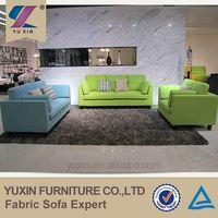 Modern Wood Hotel Sofa Set