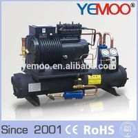Hangzhou Yemoo Copeland 8HP Cold Room Refrigeration Water Cooled Condensing Unit thumbnail image