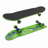"""31""""x8.5"""" Double kicktail Canadian maple Skateboard Complete thumbnail image"""