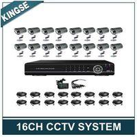 16CH Surveillance H.264 DIY DVR Kit