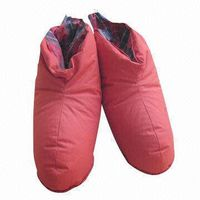 Indoor Shoes with 30% to 90% Duck/Goose Down Filling, Available in Various Styles