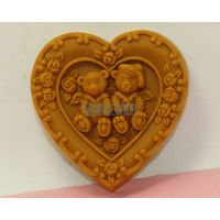 Moulds Lover Bear  Heard Shaped Silicone Mold Chocolate Mold Cake Cookie Soap Mould Sgs Lfgb Fda Ce