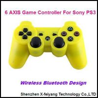Yellow Game Controller For Sony PS3