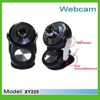 360 degree rotation webcam for pc,laptop and notebook