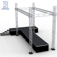 TUV Certified Heavy Loading Outdoor Concert Screw Truss Stage/Truss Aluminium/Event Lighting Truss