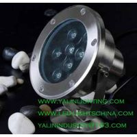 waterproof LED underwater light, garden pool LED spotlight, decorative outdoor lighting