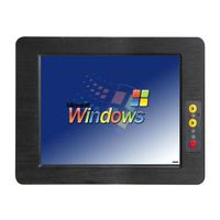 12 inch fanless touch screen Industrial Tablet PC IPPC-121C thumbnail image