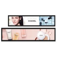 Digital Signage Advertising Display Stretched Bar Ultra Wide Screen for Supermarket Advertisement