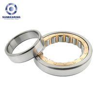 NU207EM Cylindrical Roller Bearing 357217mm Chrome Steel