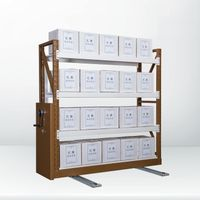 Metal Multilayers Shelving Display Rack for Goods Storage
