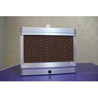 brown evaporative cooling pad with aluminium frame