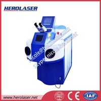 Jewelry Lamp Pump YAG Laser Welding Machine, 400W Spot Laser Welder
