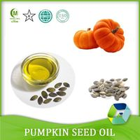 Pumpkin seed oil for softgels